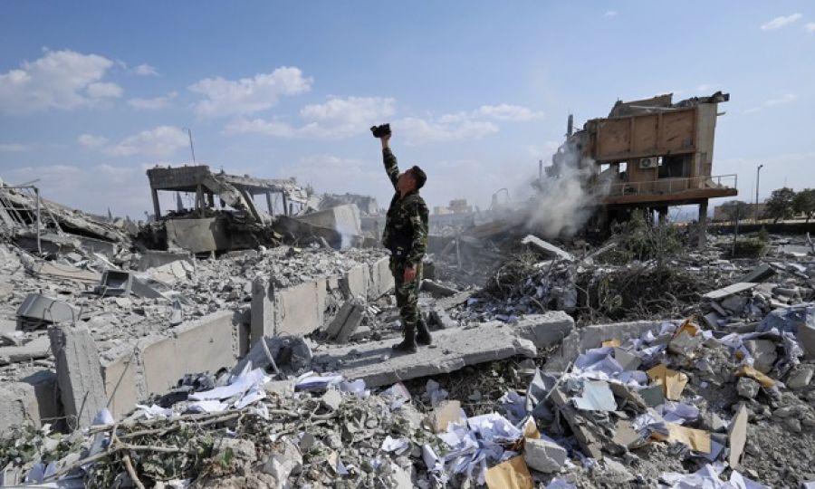 Οι επιδρομείς έχουν δημιουργήσει μια συμμορία για να μας ρίξουν κάτω, αλλά απέτυχαν, υποστηρίζει ένας κάτοικος της Δαμασκού
