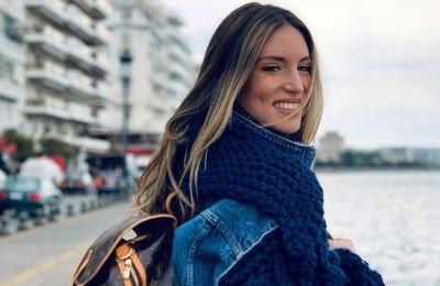 34ac1701957c Η Στέλλα Μακάρτνεϊ χρησιμοποίησε βίντατζ υφάσματα για τις δημιουργίες της  σε χρώματα μπλε