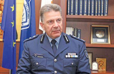 Στη συνέντευξή του στην «Κ» ο Αρχηγός της Αστυνομίας υποστηρίζει σθεναρά πως τα στοιχεία δείχνουν μείωση των εγκληματικών ενεργειών