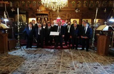 Ο χοράρχης Χρυσόστομος Οικονόμου αναφέρθηκε στη σημασία που έχουν τέτοιες εκδηλώσεις που τονώνουν, όπως είπε, το θρησκευτικό συναίσθημα