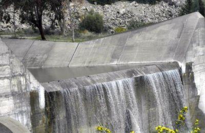 Μετά από επτά χρόνια υπερχείλισε την Κυριακή βράδυ και το φράγμα Γερμασόγειας χωρητικότητας 13,5 εκατομμυρίων κυβικών μέτρων νερού