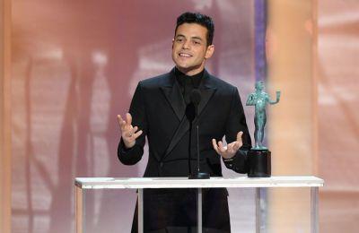 Ο Ραμί Μαλέκ  κέρδισε το SAG καλύτερης ανδρικής ερμηνείας για το «Bohemian Rhapsody»