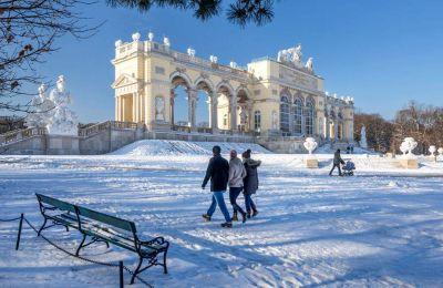 Οι κήποι του ανακτόρου Schönbrunn είναι από τα πιο σημαντικά αξιοθέατα της Βιέννης