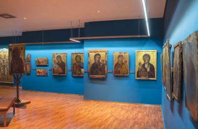 Για την έκθεση «Παλαιολόγειες αντανακλάσεις στην τέχνη της Κύπρου (1261-1489)» συγκεντρώθηκαν περισσότερα από 50 έργα απ' όλη την Κυπρο