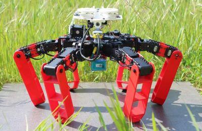 Το ρομπότ ζυγίζει 2,3 κιλά, έχει έξι πόδια που του επιτρέπουν να κινείται σε δύσκολα περιβάλλοντα.