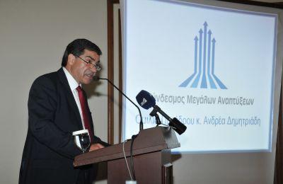 Ο Σύνδεσμος Μεγάλων Αναπτύξεων υπογραμμίζει πως παρά τις θετικές εξελίξεις, η κυπριακή οικονομία παραμένει εύθραυστη.