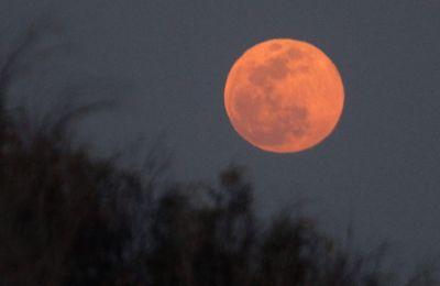 Η Σελήνη ακολουθεί μια ελλειπτική τροχιά και η απόστασή της από τον πλανήτη μας δεν είναι σταθερή