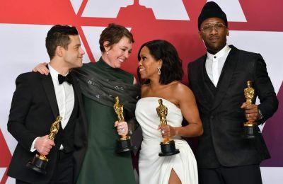 Οι τέσσερις βραβευμένοι ηθοποιοί στη φετινή απονομή των Oscars