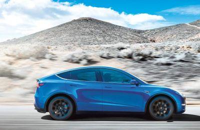 H Tesla παρουσίασε χθες το νέο ηλεκτρικό αυτοκίνητο ονόματι Model Y.