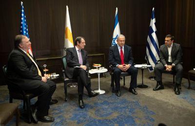 Ο Πρόεδρος της Δημοκρατίας Νίκος Αναστασιάδης είχε την ευκαιρία να συναντηθεί με τον ΥΠΕΞ των ΗΠΑ Μάικ Πομπέο στον 10 όροφο του David Citadel