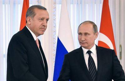 Πούτιν και Ερντογάν συναντήθηκαν τον Ιανουάριο στη Μόσχα για να συζητήσουν για την κατάσταση στη Συρία