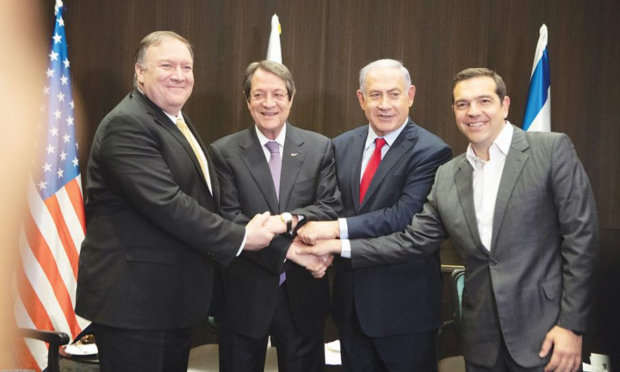 Διπλωματικές πηγές υποστηρίζουν πως η Σύνοδος του Ισραήλ ενισχύει τις φιλόδοξες προοπτικές μετατροπής της Κύπρου σε ενεργειακό κέντρο