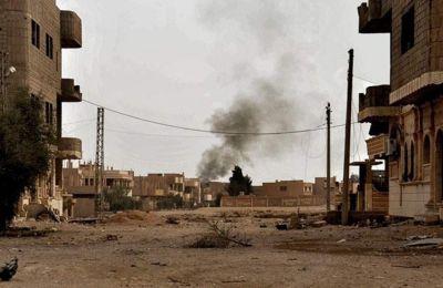Συριακή στρατιωτική πηγή ανέφερε ότι πέντε οβίδες με τοξικό αέριο ερρίφθησαν από ομάδες της αντιπολίτευσης στο χωριό αλ-Ρασίφ