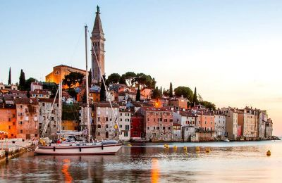 Όλα θυμίζουν Ιταλία στη χερσόνησο της Ίστρια· η αρχιτεκτονική, η φύση, η γαστρονομία, ακόμα και οι άνθρωποι