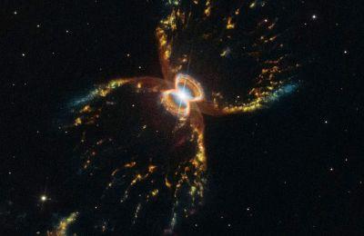 Το νεφέλωμα παρατηρήθηκε αρχικά το 1967, αλλά είχε τότε θεωρηθεί ότι προερχόταν μόνο από ένα άστρο