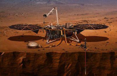 Το ρομποτικό γεωλογικό εργαστήριο InSight της Αμερικανικής Διαστημικής Υπηρεσίας (φωτογραφία: NASA)