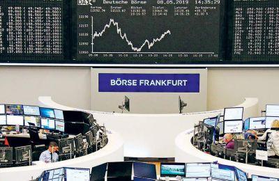 Ανοδικά κινείτο, άλλωστε, η Wall Street, ενώ ο δείκτης του δολαρίου έναντι ενός καλαθιού νομισμάτων σημείωσε άνοδο 0,17%