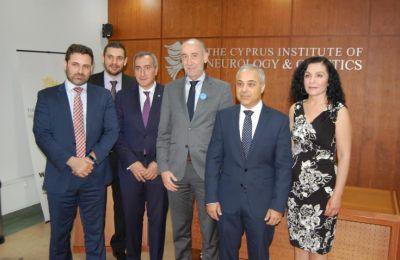Ο κ. Paquet ξεναγήθηκε στους χώρους και εργαστήρια του Ινστιτούτου, υπογραμμίζοντας για ακόμη μια φορά τη συμβολή του Ινστιτούτου στην προσπάθεια για αναβάθμιση της ποιότητας της ζωής όλων των Κυπρίων