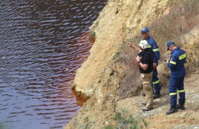 Στο μεταξύ, χωρίς αποτέλεσμα ολοκληρώθηκαν χθες αργά το απόγευμα οι έρευνες στην Κόκκινη Λίμνη, στο Μιτσερό