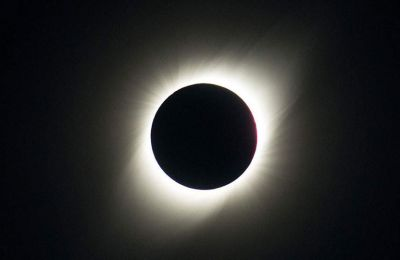 Οι υπόλοιπες νοτιοαμερικανικές χώρες «απόλαυσαν» μια μερική ηλιακή έκλειψη
