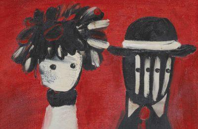 Το έργο του Γιάννη Γαΐτη με τίτλο «Το Ζευγάρι» αποδείχθηκε πολύ δημοφιλές αποσπώντας επτά κτυπήματα για να κατακυρωθεί στις 5.421 ευρώ