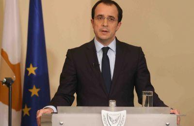 Όπως δήλωσε ο κ. Χριστοδουλίδης, τα στοχευμένα μέτρα είναι οι κυρώσεις στα άτομα και τις εταιρείες που εμπλέκονται στις παράνομες γεωτρήσεις της Τουρκίας στην ΑΟΖ.