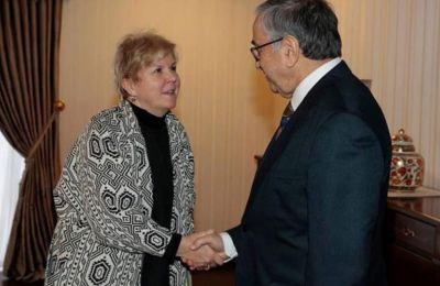 Όπως μεταδίδουν τα κατεχόμενα, η επικοινωνία έγινε με πρωτοβουλία της Ειδικής Απεσταλμένης του ΓΓ του ΟΗΕ