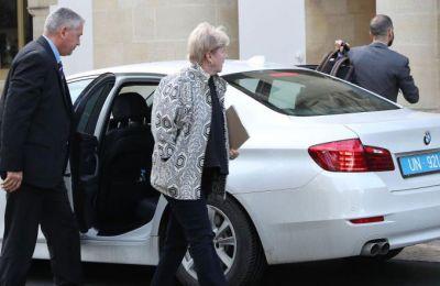 Η επιθυμία της ε/κ πλευράς για πραγματοποίηση της επίσκεψης Λουτ στην Κύπρο διαβιβάστηκε εκ νέου από τον Πρόεδρο της Δημοκρατίας