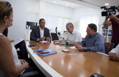 η συνάντηση πραγματοποιήθηκε, στο πλαίσιο της διαβούλευσης για ένταξη των ιδιωτικών νοσηλευτηρίων στο ΓεΣΥ