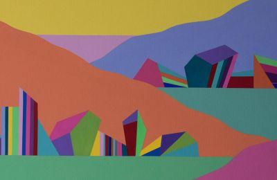 Το έργο «χωρκό» της Μερόπης Παύλου που παρουσιάζεται στην καλοκαιρινή έκθεση «Beautiful Days».