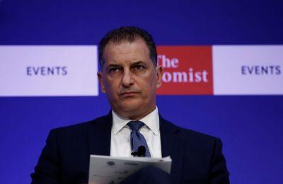 Μιλώντας στο συνέδριο του Economist, αναφέρθηκε και για τις παραβιάσεις της Τουρκίας στην ΑΟΖ