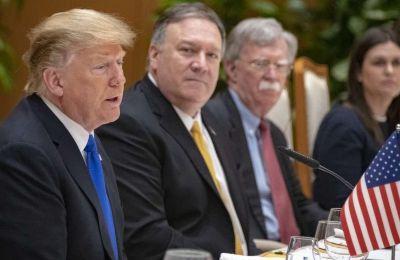 Ο Αμερικανός πρόεδρος Ντόναλτν Τραμπ και ο υπουργός Εξωτερικών Μάικ Πομπέο θα επιλέξουν τις κυρώσεις που θα επιβληθούν