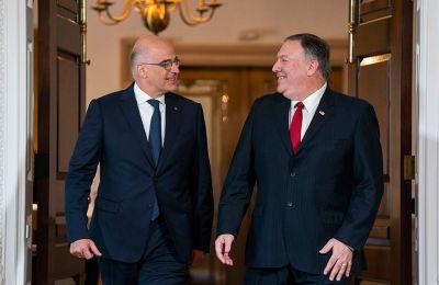 Ο Έλληνας ΥΠΕΞ θα συναντηθεί και με τον Γερουσιαστή Ρόμπερτ Μενέντεζ
