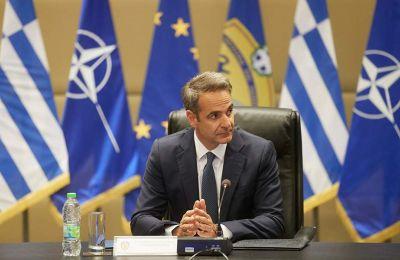 Ο Έλληνας Πρωθυπουργός πραγματοποίησε επίσκεψη στο υπουργείο Εθνικής Άμυνας