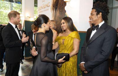 H πηγή του ET ανέφερε ότι η Beyonce και ο Jay Z «επισκίασαν εντελώς» το βασιλικό ζευγάρι