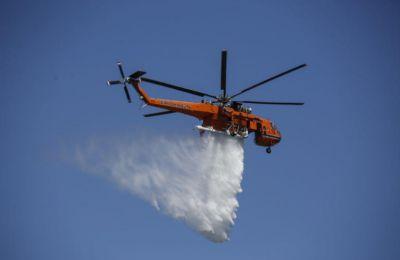 Η δημιουργία του Κέντρου ανεφοδιασμού των ελικοπτέρων πλησίον της πυρκαγιάς θα καταστεί δυνατή με τη βοήθεια της εταιρείας Petrolina Holdings Public Ltd.