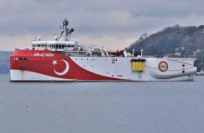 Τον Αύγουστο στέλνει στην Μεσόγειο το «Ορούτς Ρέις» η Τουρκία