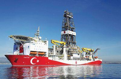 Η Τουρκία διαμηνύει πλέον διπλωματικώς ότι δεν πρόκειται να σταματήσει το πρόγραμμα γεωτρήσεών της