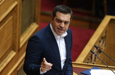 «Είναι η πρώτη Βουλή μετά από δέκα ολόκληρα χρόνια, που συγκροτείται με τη χώρα να έχει ανακτήσει την οικονομική της κυριαρχία», είπε ο Αλέξης Τσίπρας.