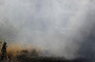 Πυρκαγιές σε Κρήτου Τέρρα και Πέγεια