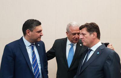 Ο υπουργός Εσωτερικών, συμμετείχε στην έκτακτη συνάντηση Υπουργών Εσωτερικών και Εξωτερικών στο Παρίσι