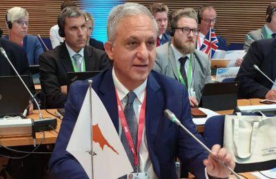 Ενημέρωσε για τις ανησυχίες της Κύπρου στο θέμα της ασφάλειας ενόσω δεν επιλύεται το Κυπριακό πρόβλημα