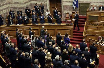 «Είμαι πεπεισμένος ότι θα τα καταφέρουμε για τη φωτεινή Ελλάδα που όλοι αξίζουμε», δήλωσε ο πρωθυπουργός, Κυριάκος Μητσοτάκης
