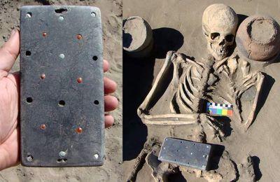 Χιουμοριστικά, οι αρχαιολόγοι ονόμασαν την αρχαία γυναίκα «Νατάσσα» και το αξεσουάρ της iphone