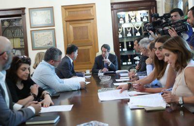 Για προσήλωση του Προέδρου της Δημοκρατία στη μεγάλη μεταρρύθμιση στο χώρο της υγείας έκανε λόγο ο κ. Κούμας
