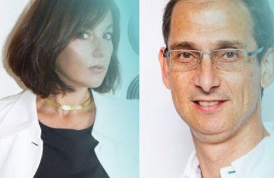 Ο Daniel Bobroff  και η Delphine Remy-Boutang
