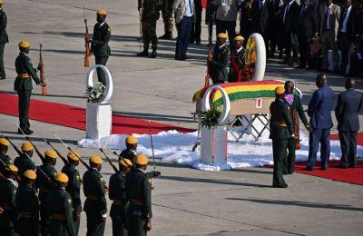 ο Μουγκάμπε θα ενταφιαστεί στο Μνημείο των Ηρώων της χώρας στη Χαράρε, σε περίπου 30 ημέρες