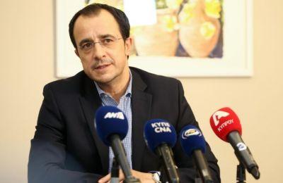 «Η επανέναρξη των συνομιλιών θα έχει ένα και μόνο επιδιωκόμενο στόχο, την επίλυση του Κυπριακού στη βάση των ψηφισμάτων των Ηνωμένων Εθνών»