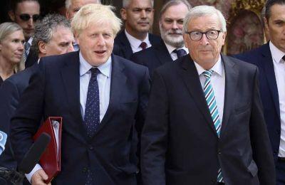 Εκπρόσωπος της Ντάουνινγκ Στριτ χαρακτήρισε «εποικοδομητική» τη συνάντηση του Μπόρις Τζόνσον με τον Ζαν Κλοντ Γιούνκερ στο Λουξεμβούργο