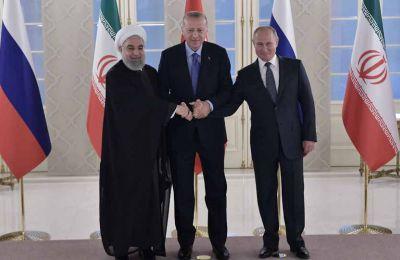 Ο πρόεδρος του Ιράν από την πλευρά του, δήλωσε ότι η διπλωματία και όχι η στρατιωτική προσέγγιση είναι η λύση για την κρίση στη Συρία.